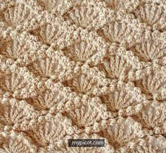 MyPicot | Crochet Textured Shell stitch