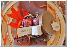 Thanksgiving Thankful Favors