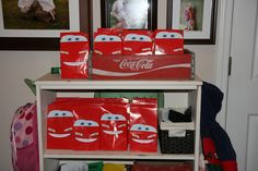 Cars Party Favor Bags