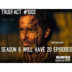 True Fact<---Is this true, I hope so. I wasn't aware this was an option. I don't know if I could physically handle it. I'm not prepared, but I can't wait! Walking Dead Facts, Walking Dead Tv Series, Walking Dead Zombies, Fear The Walking Dead, Best Tv Shows, Best Shows Ever, Talking To The Dead, Dead Inside, Stuff And Thangs