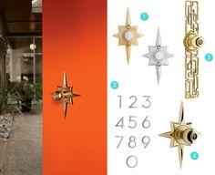 Mid Century Modern Interior Door Knobs ansaldi & sons | reproduction furniture hardware for furniture