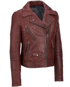 d373fd89bf124 76 Best Women Leather Fashion Jackets images