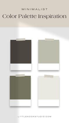 House Color Palettes, Color Schemes Colour Palettes, Interior Color Schemes, Modern Color Palette, Paint Color Schemes, Green Colour Palette, Interior Paint Colors, Paint Colors For Home, Modern Colors