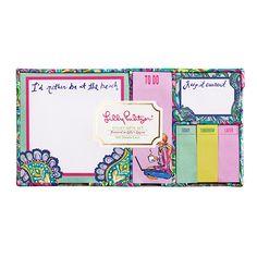 Lilly Pulitzer Sticky Note Set | Lifeguard Press
