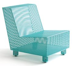 Chair #35 by Damian Velasquez - this would be awsome outside furniture!