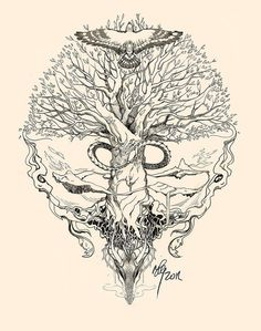 This Would Be A Goos Idea For An Yggdrasil Tattoo Since I Want Underboob It Could Have The Roots Continue Cup Boobs Lol My Explanation