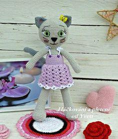 PATTERN  Cat Lady  crochet pattern amigurumi by CrochetfromYvett