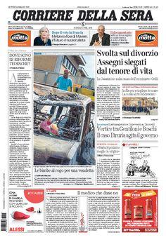 Corriere della Sera // 11/05/2017 //