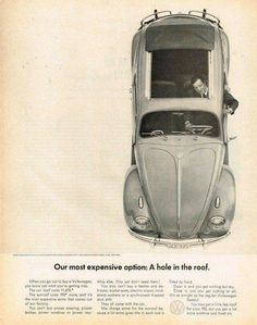 Beetle option roof ad