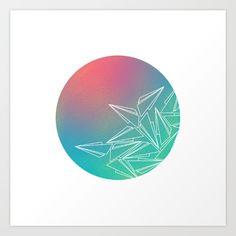 Flight #society6 #art #color #graphic #illustration