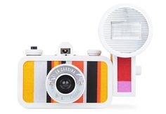 La Sardina film camera by Lomography takes shots with a vivid effect.