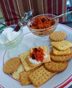 """Carrot Cake"" Chutney (Topping for Cream Cheese & Crackers).  Warning: Very Addicting:)"