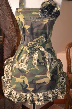 Your in the Army Now Military Inspired by OliviabyDesign on Etsy, $26.95