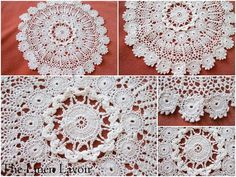 Vintage Doily ~ Irish Lace Crocheted by The Linen Lavoir, via Flickr