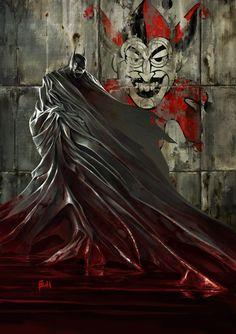 Batman vs The Joker his all time nemmisses . Batman Love, Batman Beyond, Batman Art, Batman Stuff, Superman, Comic Book Characters, Comic Character, Comic Books Art, Comic Art