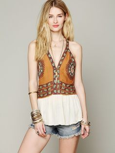 Free People Campo Grande Halter at Free People Clothing Boutique