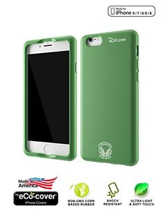 iPhone Case in Green by the eCo-cover. Made For...