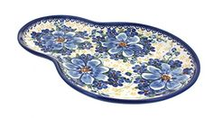 Polish Pottery Daisy Surprise Breakfast Plate -- More info could be found at the image url.