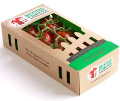 Backyard Farms tomato packaging -- love it