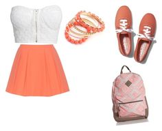 """school dance"" by johanne-jc on Polyvore featuring NLY Trend, Alice + Olivia, Keds and Ruby Rocks"