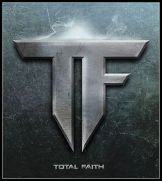 """Total Faith 2"" by Aris F. Española     Arisen13 on http://Shadowness.com/arisen13 #3D #typography #graphic #design #art"
