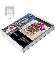 Hamburg-Kalender, Edition 2016 in weiß Money Clip, Wallet, Wall Calendars, Hamburg, Clock, Money Clips, Purses, Diy Wallet, Purse