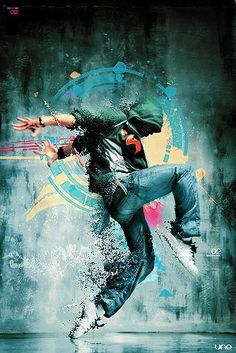 Hip-hop dance refers to street dance styles primarily performed to hip-hop music or that have evolved as part of hip-hop culture. It includes a wide range of styles-Street art Graffiti Artwork, Street Art Graffiti, Baile Hip Hop, Breakdance, Foto Art, Dance Photos, Pics Art, Banksy, Urban Art