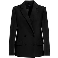 Tailored Box Blazer (€255) ❤ liked on Polyvore featuring outerwear, jackets, blazers, tailored blazer and tailored jacket