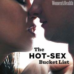 Top Ten: The Ultimate Hot-Sex Bucket List