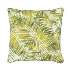 Striking shades of jungle green weave across this gorgeous, tropical throw pillow. Enjoy its leafy delights as you soften up your favorite armchair.  Find the Sago Twist Pillow, as seen in the #TropicalAllure Collection at http://dotandbo.com/collections/tropicalallure?utm_source=pinterest&utm_medium=organic&db_sku=104386
