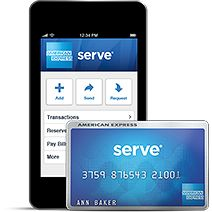 Registration | Serve from American Express  __ the only mostly FREE preloadable card  1-800-954-0559