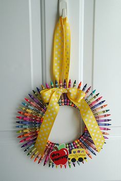Such a cool idea for a kids' party or somewhere else you need lots of color