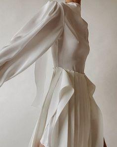 Villa Mandra by K-Studio — MODEDAMOUR Aphrodite, Chic Wedding, Wedding Styles, Pleated Skirt, Dress Skirt, Marina Dress, Magazine Mode, Stunning Dresses, Wabi Sabi