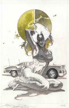 Bailey  by Simone Bianchi Comic Art