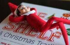 Bendable Elf on the Shelf tutorial