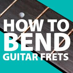 How to Bend Guitar Fret Wire Accurately - [ Full Fret Repair Guide ] - Bending, Over The Years, Save Yourself, Slot, Electric, Wire, How To Get, Shapes, Music
