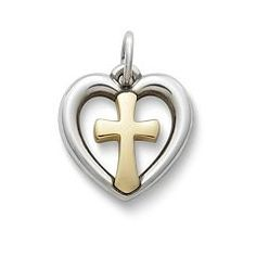 Eternal Love Gold & Silver Charm at James Avery