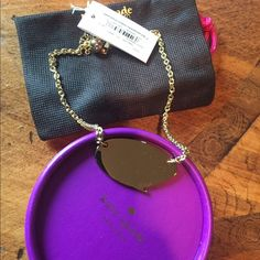"Kate Spade Necklace Brand new, comes with box :) • Chain length: 17"" • PRICE FIRM kate spade Jewelry Necklaces"
