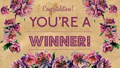 Younique WINNER party banner