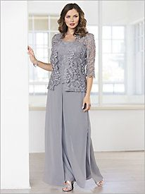 Special Occasion Jackets & Formal Jackets for Women Mother Of The Bride Suits, Mother Of Bride Outfits, Mother Of Groom Dresses, Mothers Dresses, Lace Pants, Lace Jacket, Clothes For Women Over 50, Special Occasion Outfits, Clothing Sites