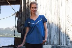 Last but not least I made the Wanderer Tunic by Striped Swallow Designs, the third pattern translated by Annika from Näh-Connection as part of the Wild & Beautiful Collection. I never used a pa…