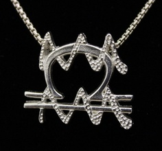 62 Libra and Aquarius Silver Unity Pendant by UnityDesignConcepts, $99.99   This is dopeeee