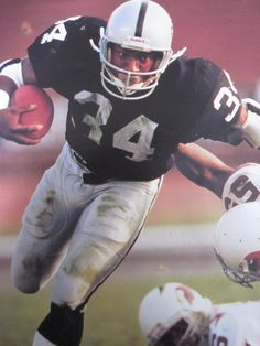 One of the best men to wear the Silver and Black!