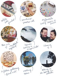 Such a cute way to recap montly memories!