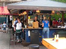 beergarden at Champs