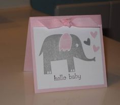 Baby Card by mecmoo - Cards and Paper Crafts at Splitcoaststampers