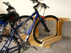 Quick and Simple Bike Rack - Project for Home Care & Repair Badge Req'ment