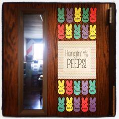 Eggcellent Students Easter Classroom Door