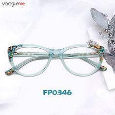 471af3198c89 Narcissa Cat Eye Green Eyeglasses These full-rim