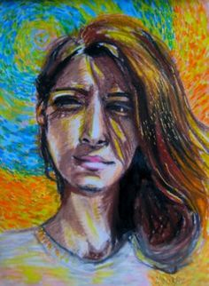 "Saatchi Art Artist Maria Iurskaya; Drawing, ""Diana - the faith in yourself"" #art"